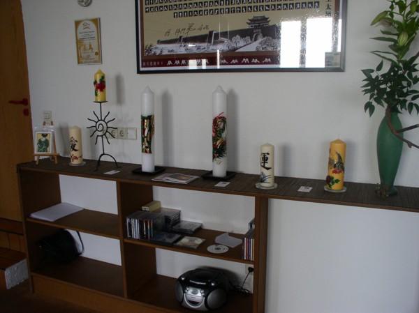 Ausstellung in der Taijiquan-Schule Ortenau