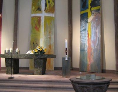 Osterkerze für die Stadtkirche