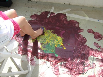 Kunst und Krempel, Action Painting