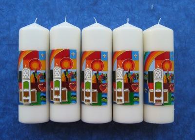 Kerzen für die Erlösergemeinde