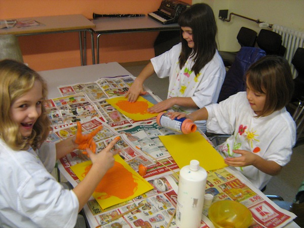 Kunst AG, Action Painting