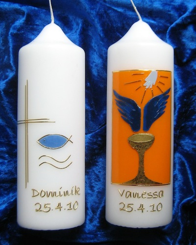 Konfi-Kerzen