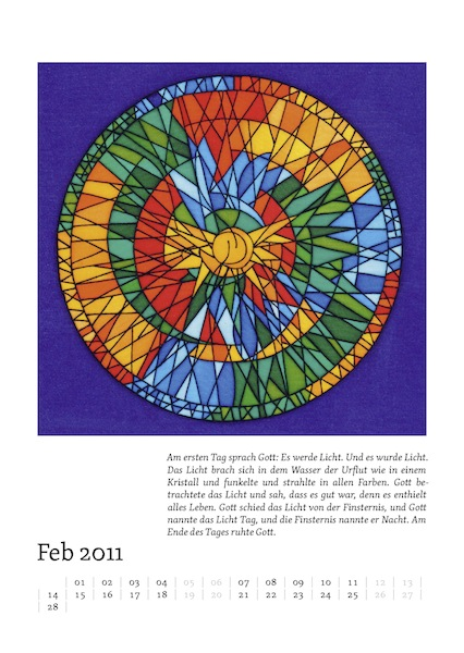 Kalenderblatt für Februar 2011