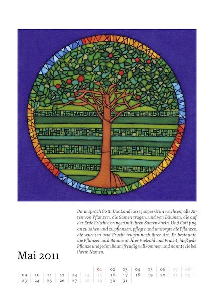 Kalenderblatt für Mai 2011