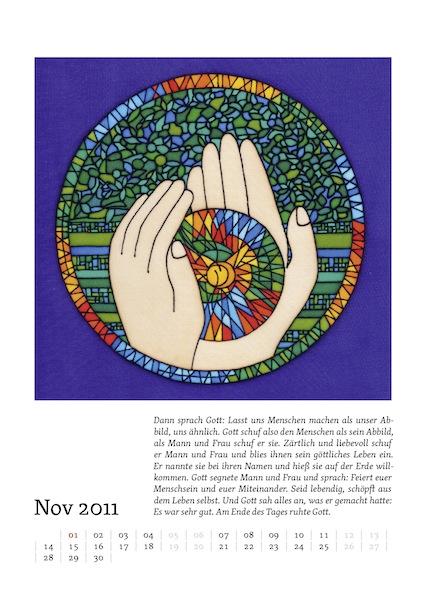 Kalenderblatt für November 2011