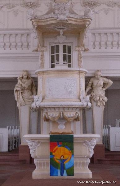 Wander-Antependium in der Ludwigskirche Saarbrücken