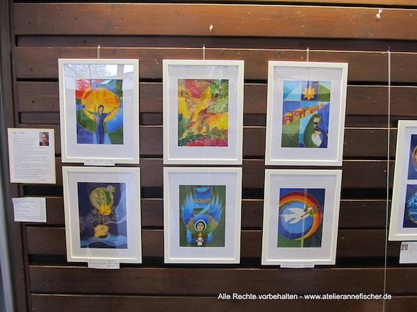 Ausstellung mit der Künstlergruppe Eidos
